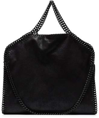Stella McCartney Black Falabella faux leather tote