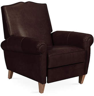One Kings Lane Hartford Club Recliner - Espresso Leather