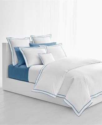 Lauren Ralph Lauren Spencer Cotton Sateen Border Full/Queen Duvet Cover Bedding
