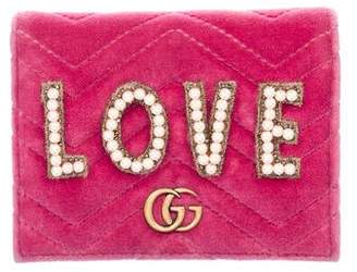 Gucci GG Marmont Love Card Holder
