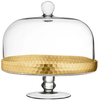 One Kings Lane Daphne Dome Cake Stand - Gold