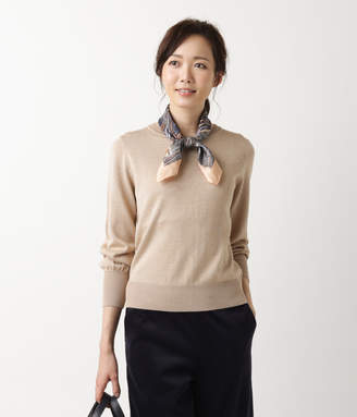 NEWYORKER women's 【秋新作】【手洗い可能】DRESS KNIT/ボリュームスリーブニットプルオーバー