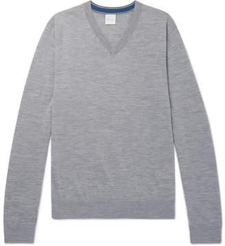 Paul Smith Mélange Merino Wool Sweater