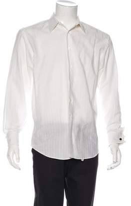 Canali French Cuff Dress Shirt