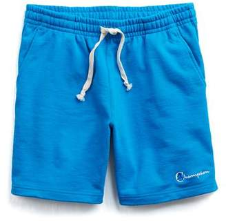 Todd Snyder + Champion The Retro Bright Warm Up Short In Blue