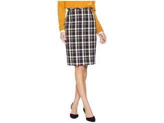 Tahari ASL Novelty Plaid Skirt Women's Skirt