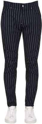 Elwood Striped Tapered Denim Jeans