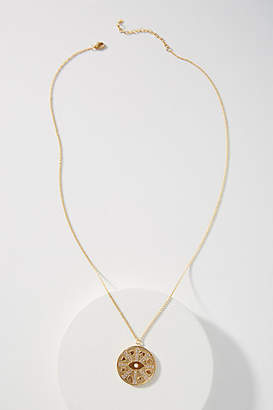 Anthropologie Icon Coin Necklace