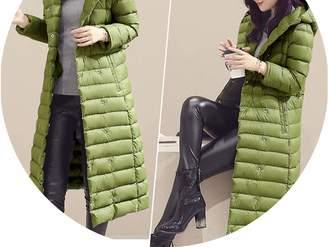Fashion-Sex down jacket Winter Women Duck Downs Jacket Parkas Sashes Long Down Coat Ladies Outerwear