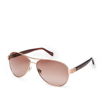 Fossil Beckington Aviator Sunglasses
