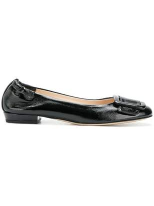 Twin-Set buckle ballerina shoes
