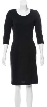 Fendi Long-Sleeve Knee-Length Dress
