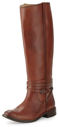 Frye Shirley Riding Plate Boot, Redwood $343.50 thestylecure.com