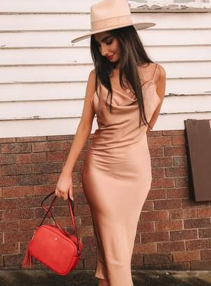 Betta Vanore Maxi Dress Champagne