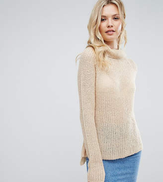 Brave Soul Tall Roll Neck Sweater