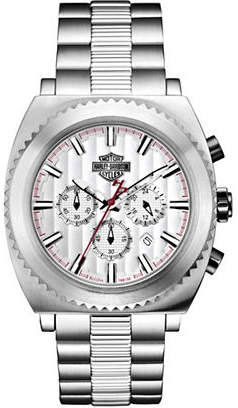 Harley-Davidson Analog Gearhead Collection Stainless Steel Bracelet Watch