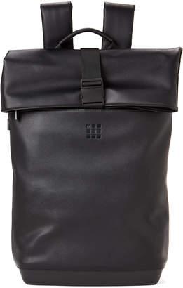 Moleskine Black Roll-Top Backpack