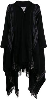 Woolrich oversized poncho cape