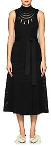Proenza Schouler Women's Crochet Midi-Dress - Black