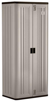 """Suncast 72"""" H x 30"""" W x 20"""" D Blow Mold Storage Cabinet"""