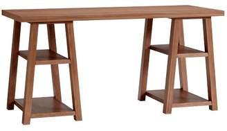 Pottery Barn Teen Customize-It Simple Trestle Desk, Walnut