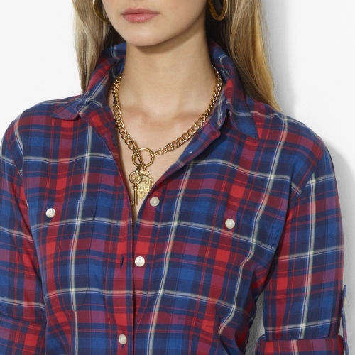 Ralph Lauren Plaid Cotton Workshirt
