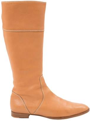Fratelli Rossetti Camel Leather Boots