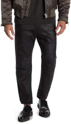 Diesel Mharky Slim Skinny Leg Coated Jeans
