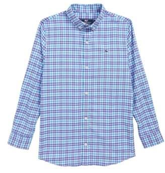 Vineyard Vines Morgan Way Flannel Whale Shirt