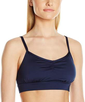 Pink Lotus PL Movement by Women's Boho Sports Bra Over the Shoulder Straps