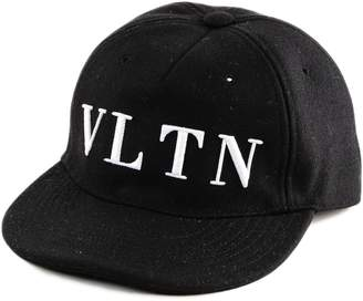 Valentino Logo Embroidered Baseball Cap