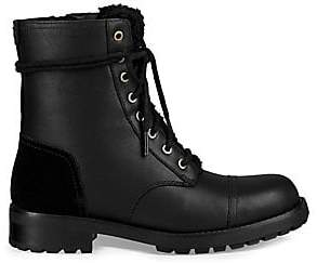 UGG Women's Kilmer Leather& Suede Combat Boots