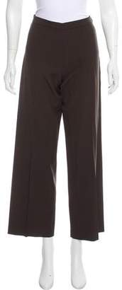 Agnona Mid-Rise Wool Pants