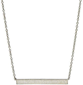 Freida Rothman Pavé Cubic Zirconia Bar Necklace