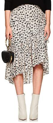 Ulla Johnson Women's Gretchen Floral Striped Cotton-Silk Skirt