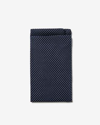 Express Pre-Folded Polka Dot Cotton Pocket Square