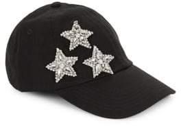 Hat Attack Embellished Star Baseball Cap