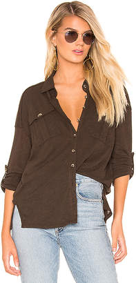 Free People Penelope Button Down