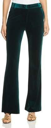 Aqua Flared Velvet Pants - 100% Exclusive