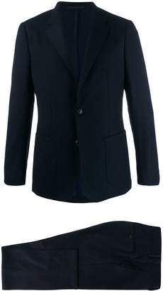 wool two piece suit