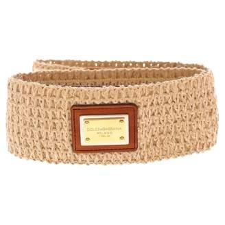 Dolce & Gabbana Cloth belt