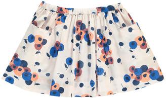BONTON Dictation Flower Skirt $78 thestylecure.com