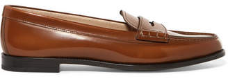 Church's Kara Glossed-leather Loafers - Brown