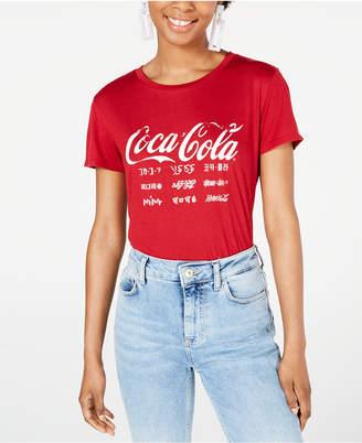 3a54cf1c3 Freeze 24-7 Juniors' Coca-Cola Graphic T-Shirt