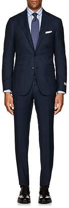 Canali Men's Natural Comfort Neat Wool Two-Button Suit