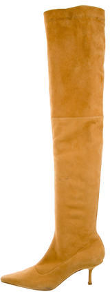 Jimmy Choo Jimmy Choo Suede Over-The-Knee Boots