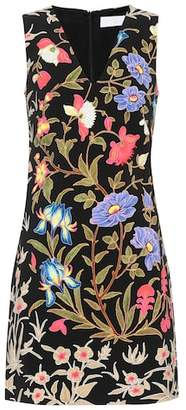Peter Pilotto Floral-printed cady minidress