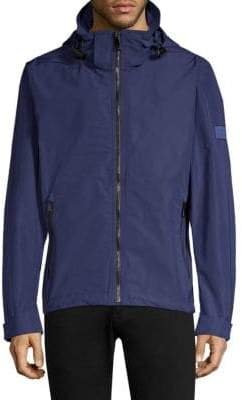 Burberry Hedley Hooded Zip-Up Jacket