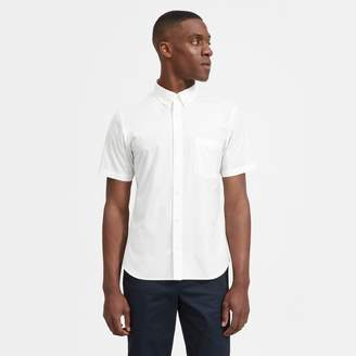 Everlane The Cotton Short-Sleeve Slim Fit Shirt