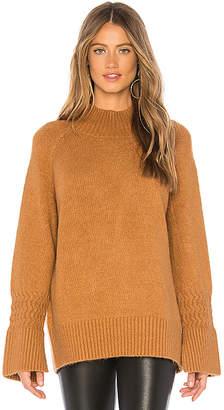 J.o.a. Mock Neck Sweater